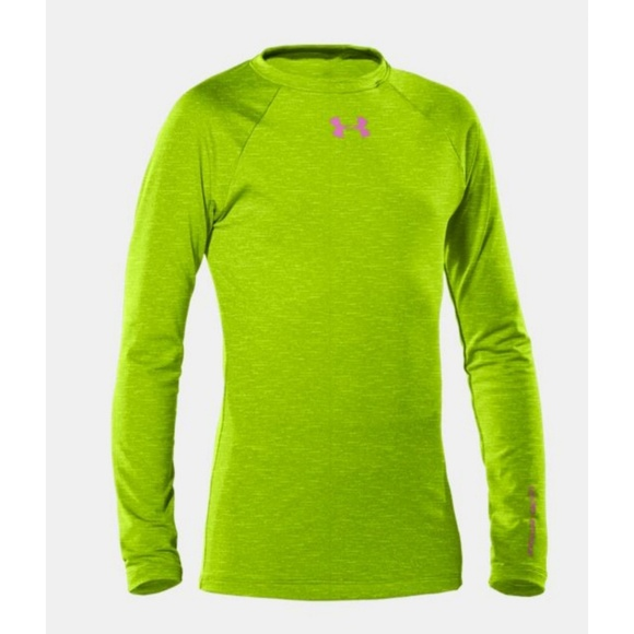 e93343f51a Under Armour Girls Cold Gear Top NWT